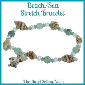 NWT***BOUTIQUE*** SEA/BEACH STRETCH BRACELET